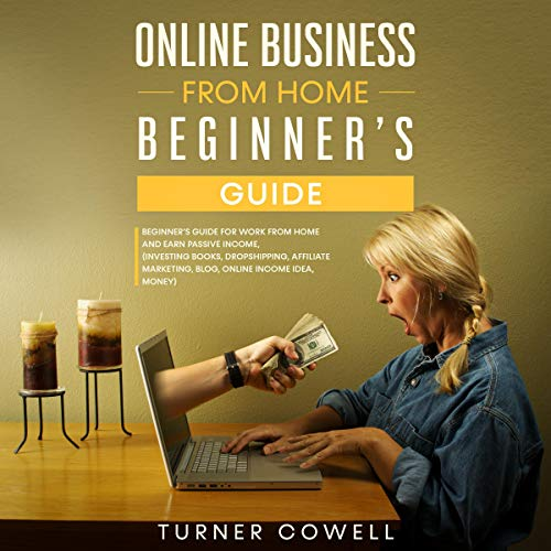 Online Business from Home Beginner's Guide audiobook cover art