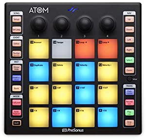 PreSonus ATOM Production and Performance Pad Controller with Studio One Artist Software by PreSonus Audio Electronics