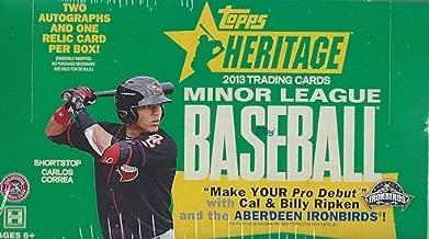 2013 Topps Heritage Minor League Baseball box (24 pk HOBBY)