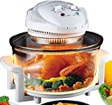 Electric Air Fryer Turbo Convection Oven Roaster Steamer,Halogen Oven Countertop Great for French...