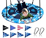 Royal Oak Saucer Tree Swing,Giant 40 Inches with Carabiners...