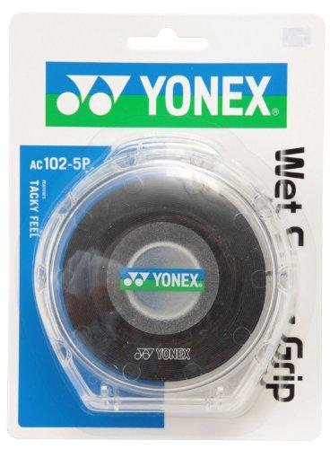 ヨネックス ウェットスーパーグリップ5本パック 5本 ブラック 1パック 5本