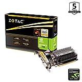 జోటాక్ జిఫోర్స్ GT 730 జోన్ గ్రాఫిక్స్ కార్డ్ (NVIDIA GT 730, 4GB DDR3, 64bit, బేస్ క్లాక్ 902 MHz, 1,6 GHz, DVI, HDMI, VGA, నిష్క్రియాత్మక శీతలీకరణ)