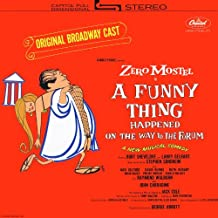 A Funny Thing Happened on the Way to the Forum: Original 1962 Broadway Cast (1967 Capitol Reissue) [Vinyl LP] [Stereo]