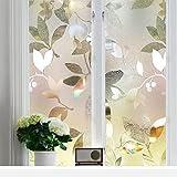 Película de privacidad de la Ventana del Arco Iris, Etiqueta engomada de la Ventana del Vinilo del Bloqueo de la luz del Control térmico, usada en el baño, la Cocina, el Dormitorio L 60x300cm