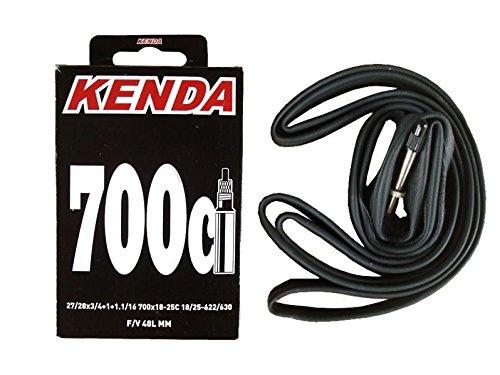 Kenda Fahrrad-Schlauch 700x18–23 Ventil französisch / Presta, 48 mm, zerlegbar, in Box