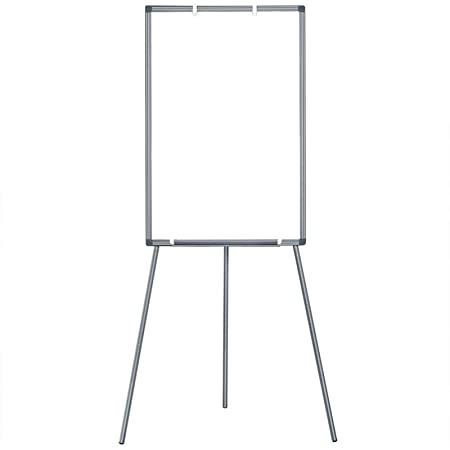 Easel Whiteboard - Magnetic Portable Dry Erase Easel Board 36 x 24 Tripod Whiteboard Height Adjustable Flipchart Easel Stand White Board for Office or Teaching at Home & Classroom (Gray)