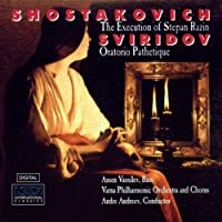 Shostakovich: Execution of Stepan Razin Op 119; Sviridov: Pathetic Oratorio No 1-07