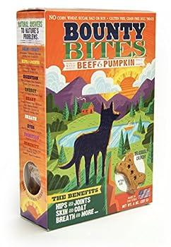 Bounty Bites Beef & Pumpkin Grain Free Baked Dog Treats