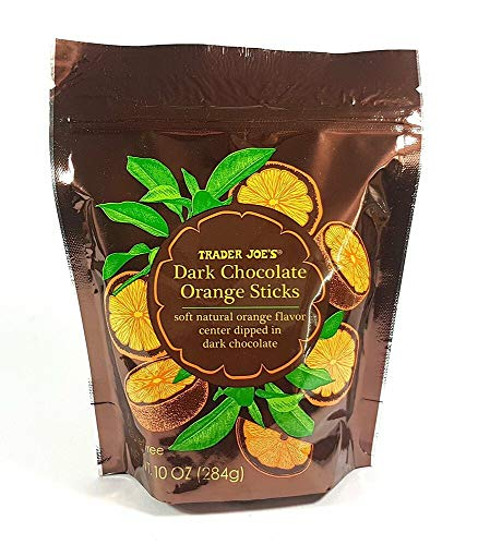 Trader Joe's Dark Chocolate Orange Sticks 10 0Z