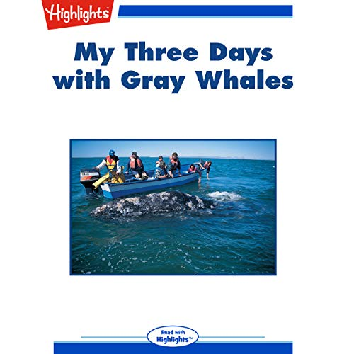 My Three Days with Gray Whales copertina