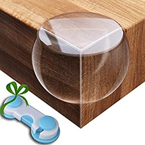 Corner Protector (12 Pack +Gift) Baby Proof Corner Guards – Baby Proofing Furniture Corner Protectors – Sharp Edge Protector Child Safety – Table Corner Protectors – Kids Clear Coffee Table Bumpers