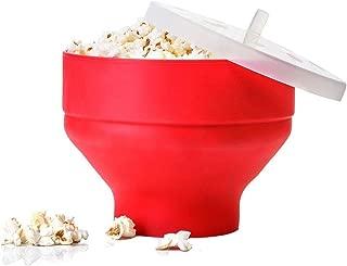 Magic silicone four micro-ondes maïs popcorn maker cuisine récipient cuisson outil vert
