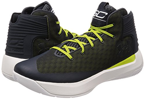 Under Armour Men's Curry 3Zero Basketball Shoe Stealth Grey/White Size 10 M US