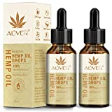 (2 Pack) Hemp Oil Drops, (3000mg / 30 ml) Natural HEMP Seed Oil Extract for Anti Stress, Sleep Support, Healthier Skin, Smoother Hair