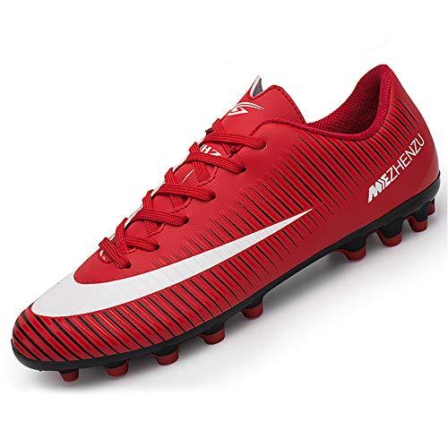 BOTEMAN Botas de Fútbol para Hombre Spike Zapatos de Fútbol Aire Libre Profesionales Atletismo Deporte Zapatillas de Fútbol Training