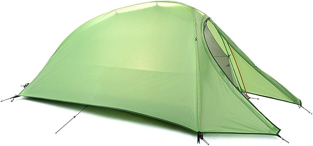 AX-outdoor products Tente de Camping Simple, Tente extérieure Portable Double Tente imperméable de Couleur Verte