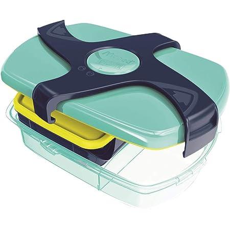 MAPED 870017 PICNIK-Boîte à déjeuner Concept Enfant Large-sans Bisphénol A-Coloris Bleu Vert