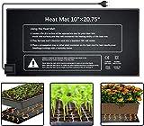 Aozzy Mantas Calefactoras Alfombrilla de Calentamiento de Cultivo Plántula germinación, Acuario Semillas Calentador de Reptiles de Jardinería Invernaderos de Germinación 21W 20.75'x10'