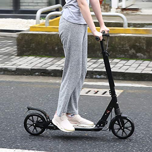 For Sale! SCOOTER Kick Adult Big 200mm Wheel, Adult Kick with Hand Brake+Foldable Handle -Instant Fo...