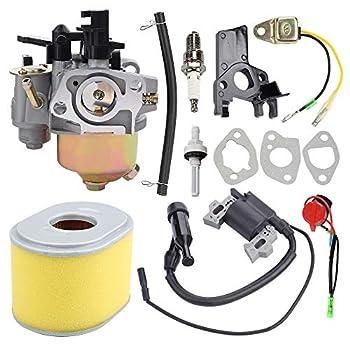 Butom 16100-ZH8-W61 Carburetor with Tune Up Kit for Harbor Freight Predator 6.5 HP 212cc Go Kart OHV Engine Honda GX160 5.5HP GX200 6.5HP GX140 GX168 5HP Engine Water Pump