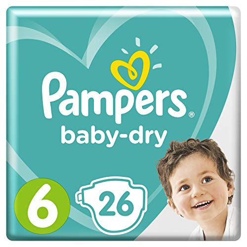 Pampers Baby-Dry Größe6, 26Windeln