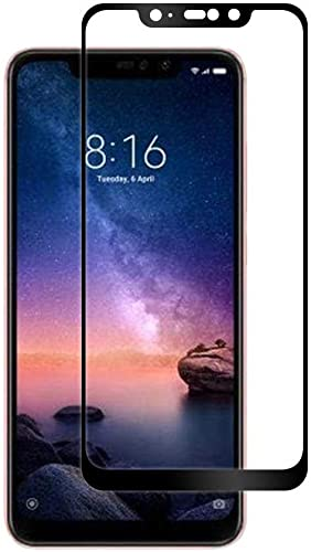 JGD PRODUCTS Tempered Glass For Redmi Note 6 Pro 6D 11D Edge To Edge Full Screen Coverage