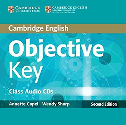 Objective Key Class Audio CDs (2) by Annette Capel Wendy Sharp(2012-12-17)