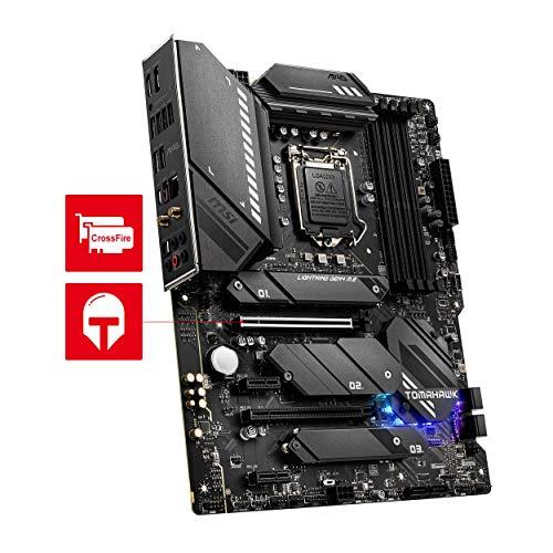 MSI MAG Z590 TOMAHAWK WIFI Scheda madre gaming ATX - Supporta processori Intel Core 11th Gen, LGA 1200 - Mystic Light, 60A VRM, DDR4 Boost (5333MHz/OC), 1 x PCIe 4.0 x16, 3 x M.2 Gen4/3 x4, Wi-Fi 6E