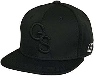 Georgia Southern The Game Black Fitted Baseball Cap With Black GS Logo