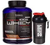 Ultimate Nutrition Prostar 100% Whey Protein - 5.28 lbs (Cocoa Mocha) with Nutradict Shaker