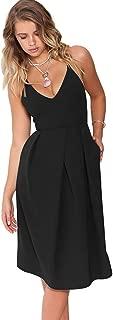 Best black spaghetti strap wrap dress Reviews