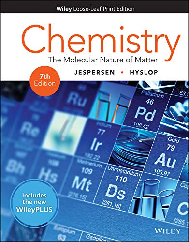 Chemistry + Wileyplus Card + Companion Set: The Molecular Nature of Matter (Wiley Plus Products)