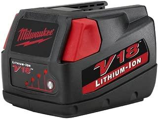 Milwaukee 48-11-1830 M18 18-volt Slide Style Lithium-Ion Battery