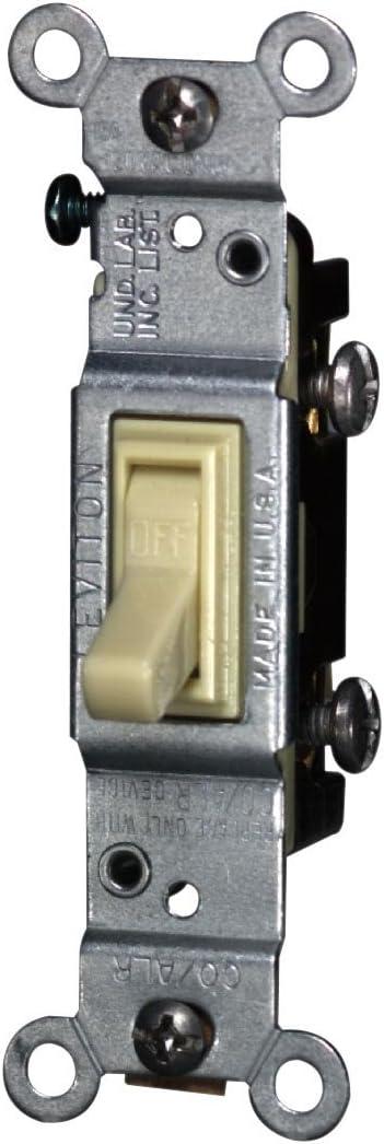 Leviton 2651-2I 15 Amp 120 Volt Toggle AC Alr Cheap sale Q Co Single-Pole Houston Mall