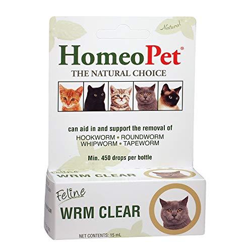 HomeoPet Feline Wrm Clear, brown, 15 ml