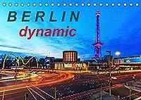Berlin dynmaic (Tischkalender 2022 DIN A5 quer): Berliner Verkehr (Monatskalender, 14 Seiten )