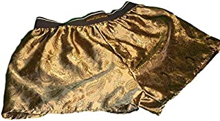 Philippe John Wright Classic Mens Silk Boxer Shorts with Paisley Motif