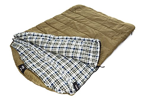 Grizzly 2 Person +0 Degree Rip Stop Sleeping Bag...