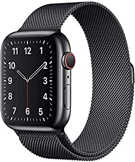 MARGOUN Milanese Loop for Apple Watch Band 44mm , Stainless Steel Alloy Replacement WatchBand 42mm Strap for iWatch Series...