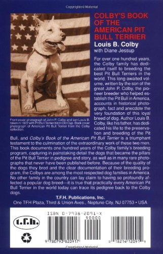 Colby's Book of the American Pit Bull Terrier 2
