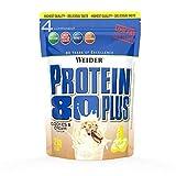 Weider Protein 80 Plus, Proteina de suero de suero de leche, Sabor Cookies & Cream, 2000 gr