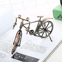 19センチメートル* 6.5センチメートル* 12センチメートル手工芸品アイアン自転車モデルヨーロッパの工芸品ホームデコレーション 素晴らしいギフトアイデア