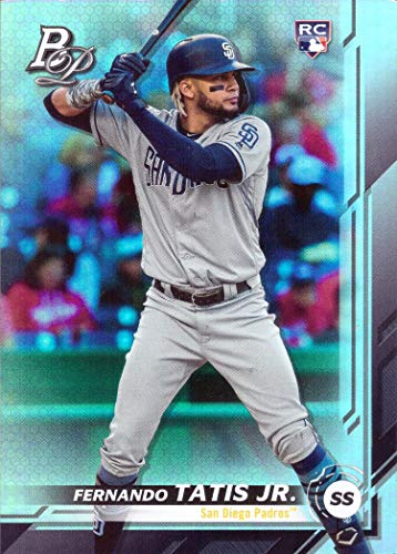 2019 Bowman Platinum Baseball #23 Fernando Tatis Jr. Rookie Card - Short Print