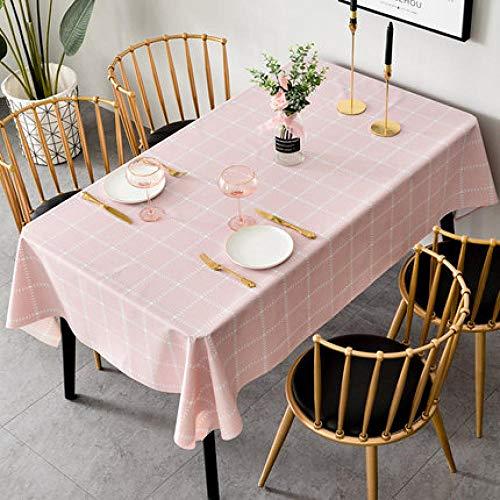 Traann tafelkleed, vierkant, waterdicht, langwerpig, rechthoekig tafelkleed, huisdecoratie voor feestjes, bruiloft 120*180 B