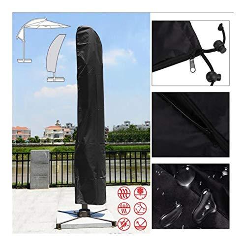 YMYP08 Patio regenhoes, 210D Oxford doek luifel dekzeil paraplu set outdoor regen strand paraplu bescherming Cover, tuin zwart paraplu opslag Cover