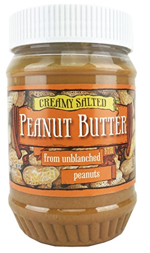 Trader Joe's Creamy Salted Peanut Butter From Unblanched Peanuts