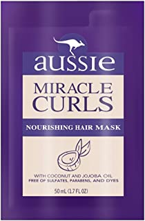 Aussie Miracle Curls Repair Mask 1.7 Ounce (10 Pieces) (50ml)