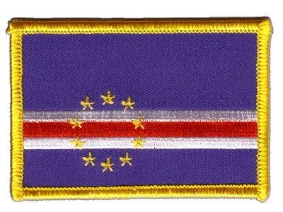 Aufnäher Patch Flagge Kap Verde - 8 x 6 cm