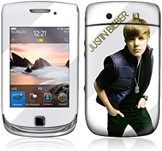 MusicSkins, MS-JB10199, Justin Bieber - My World 2.0 Color, BlackBerry Torch (9800), Skin